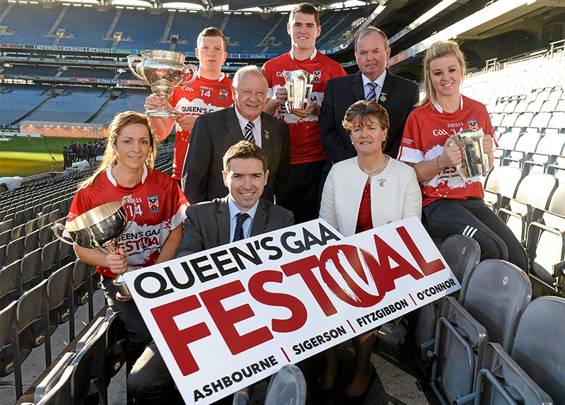 Queen's unveils new GAA Festival at Croke Park