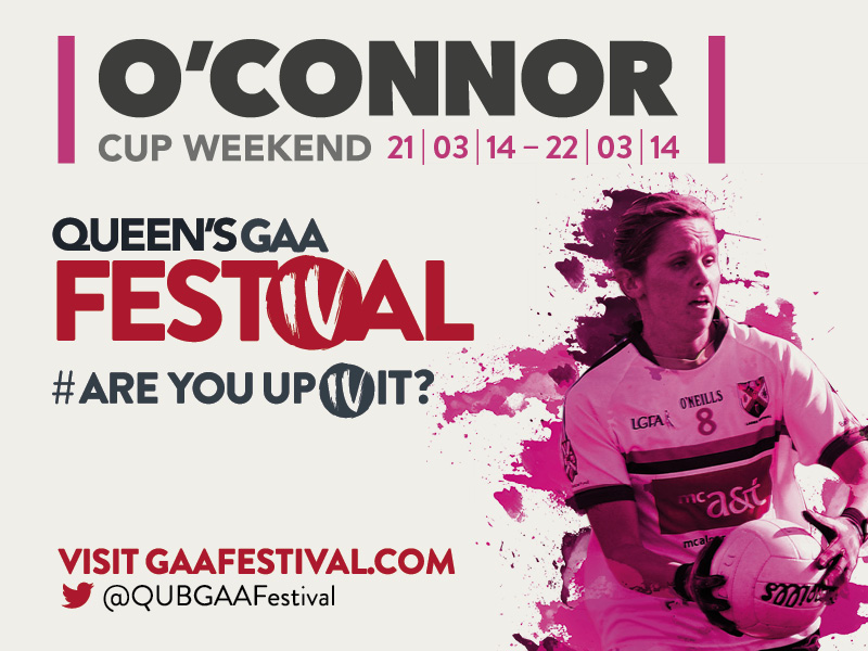 Queen's aim to defend O'Connor Cup title as Queen's GAA Festival draws to a close