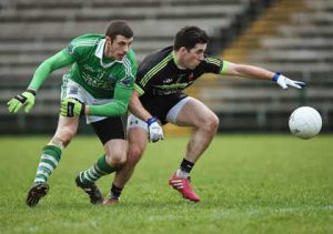 Ryan Murray in McKenna Cup first round action