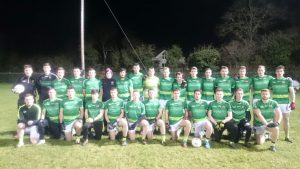 Queen's Squad which defeated NUIM at MAynooth