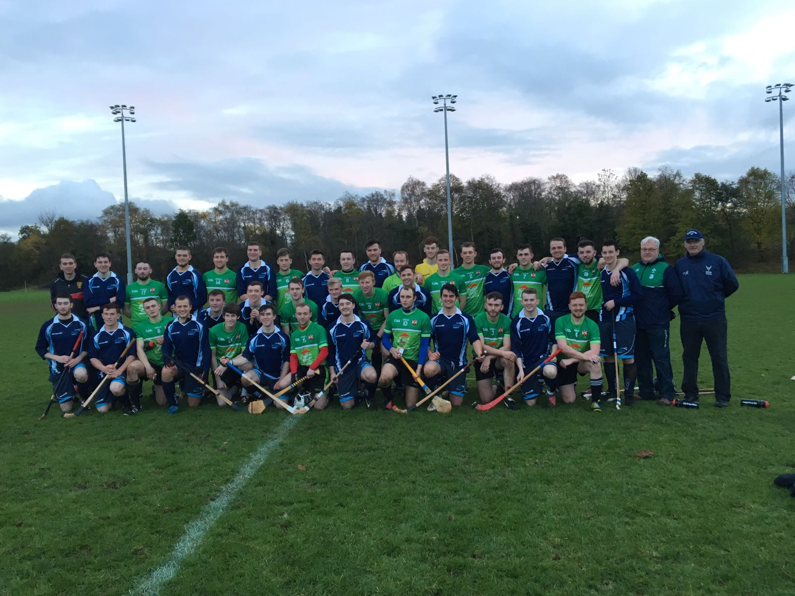 Queen's clash with Scottish Universities in Shinty challenges