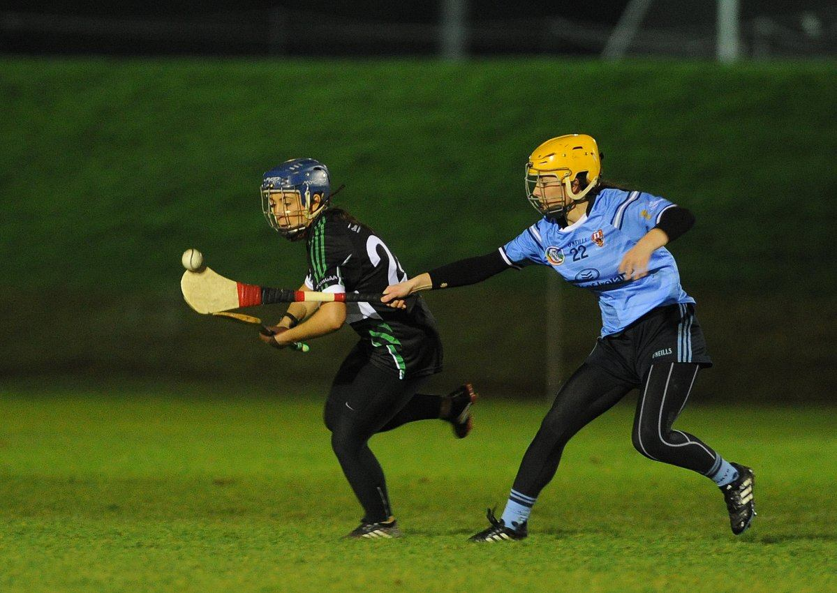 Queen's Camogs Qualify for Purcell Semi Final