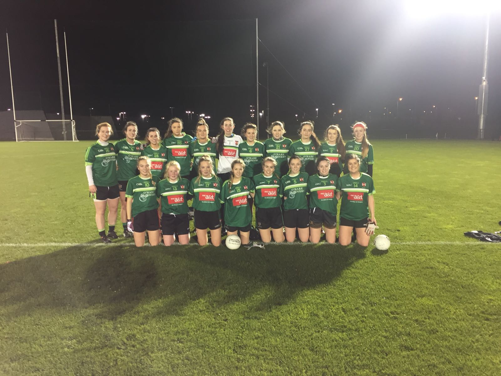 Ladies Football: Queen's win tight encounter with NUIG