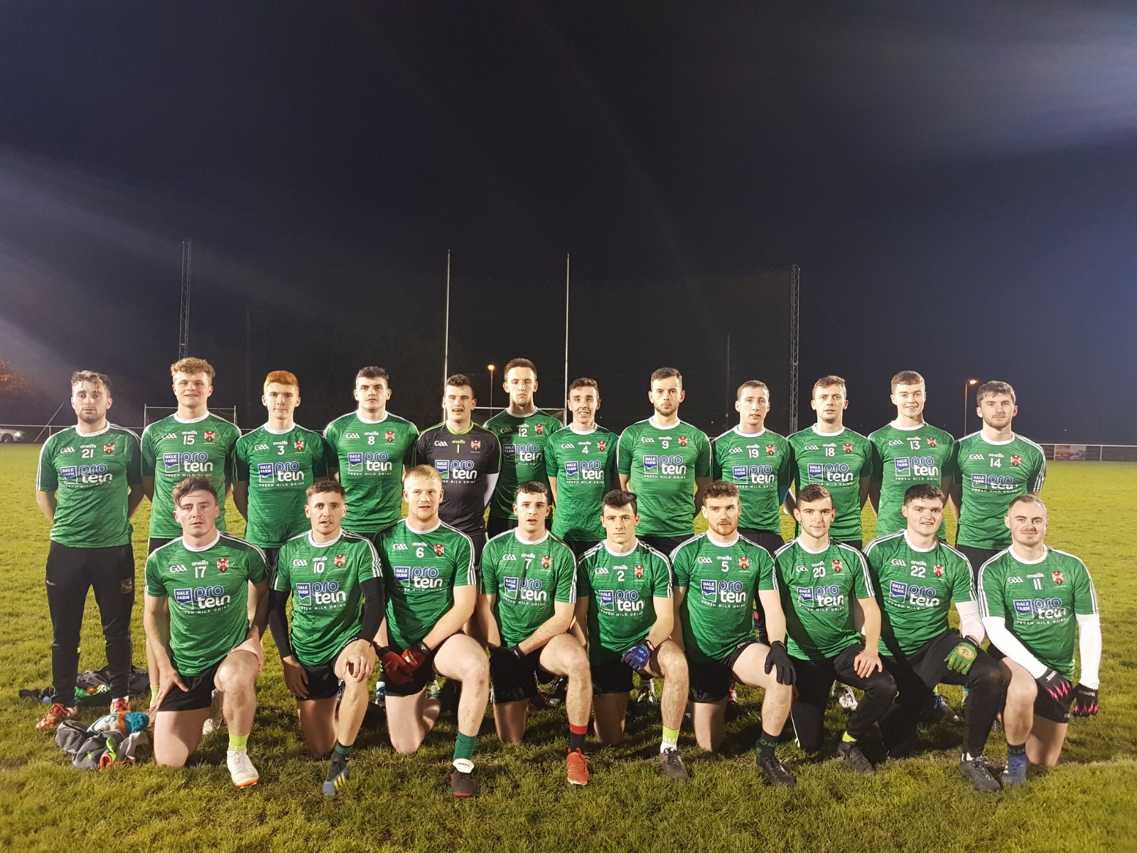 Queen's Secure Intermediate Football Title