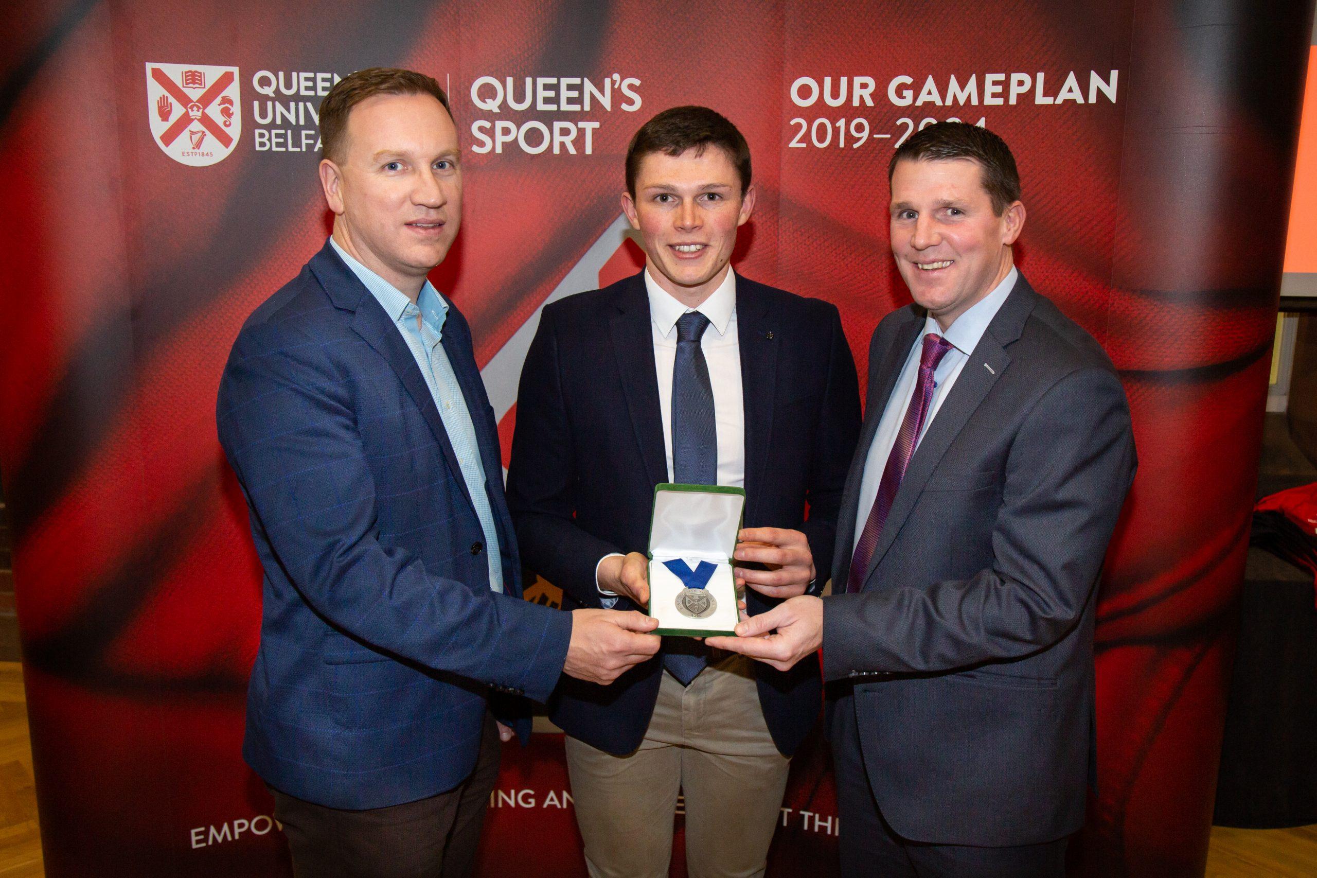 Armagh's Callum O'Neill Receives the 2019 Cormac McAnallen Medal