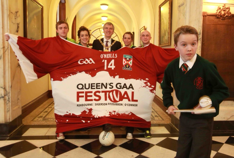 Queen's GAA festival launches in City Hall ( @QUBGAAFestival )