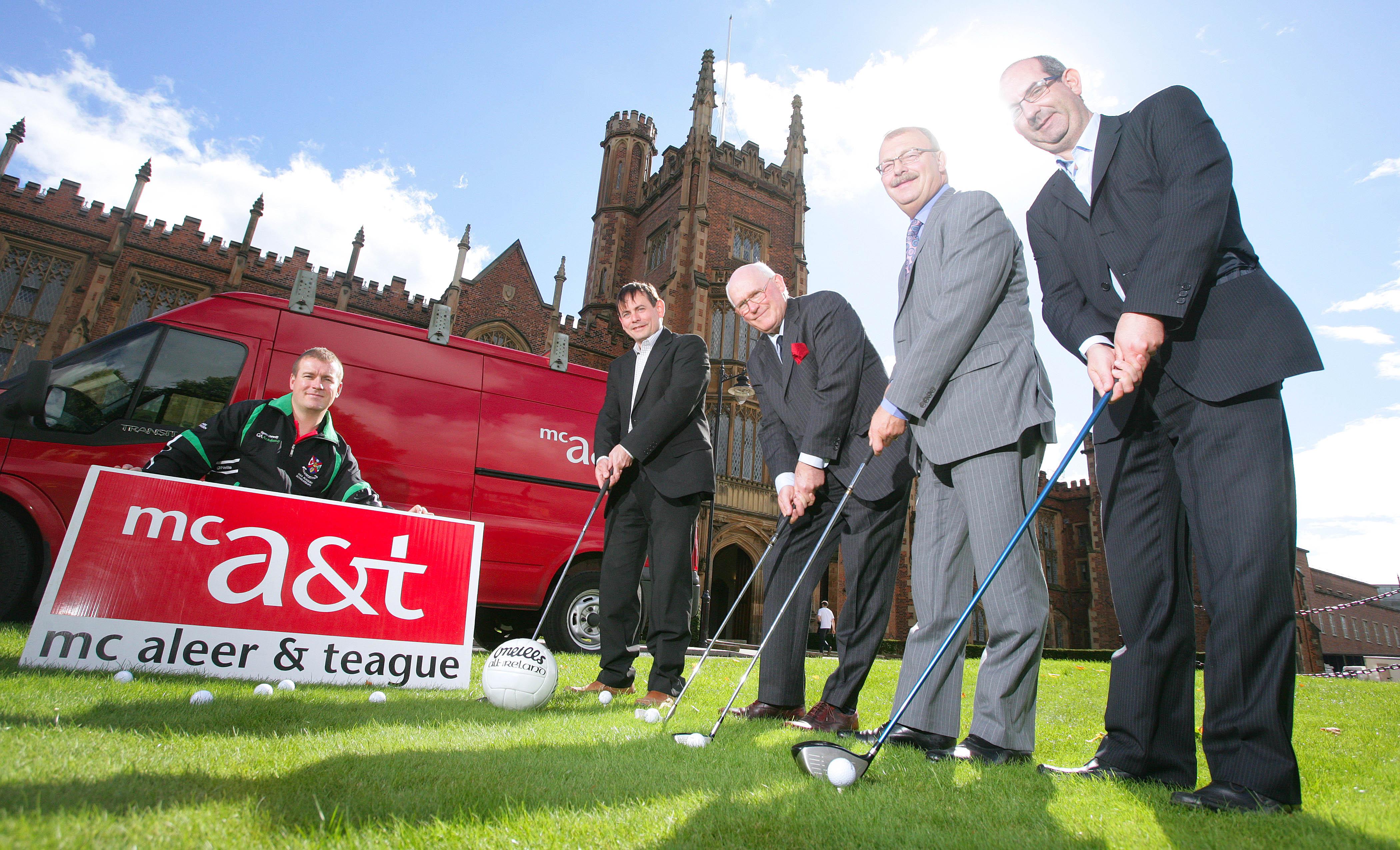 2014 Queen's GAA / McAleer & Teague Golf Classic