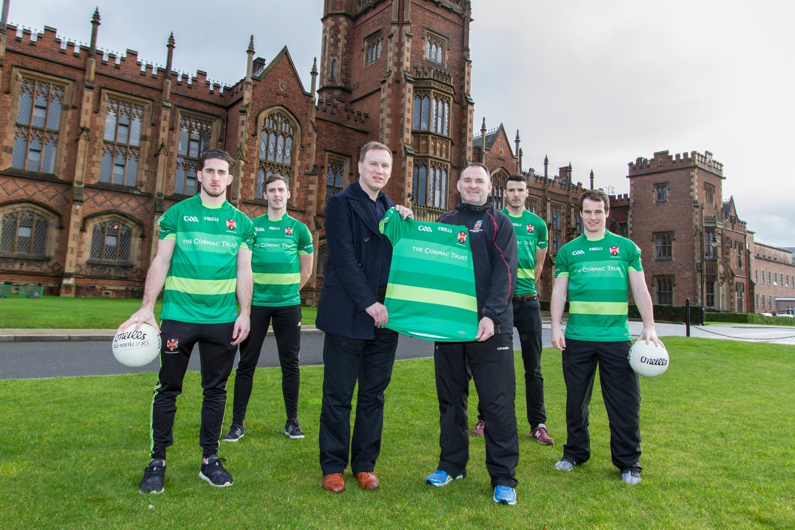 Queen's to promote Cormac Trust in Sigerson Cup