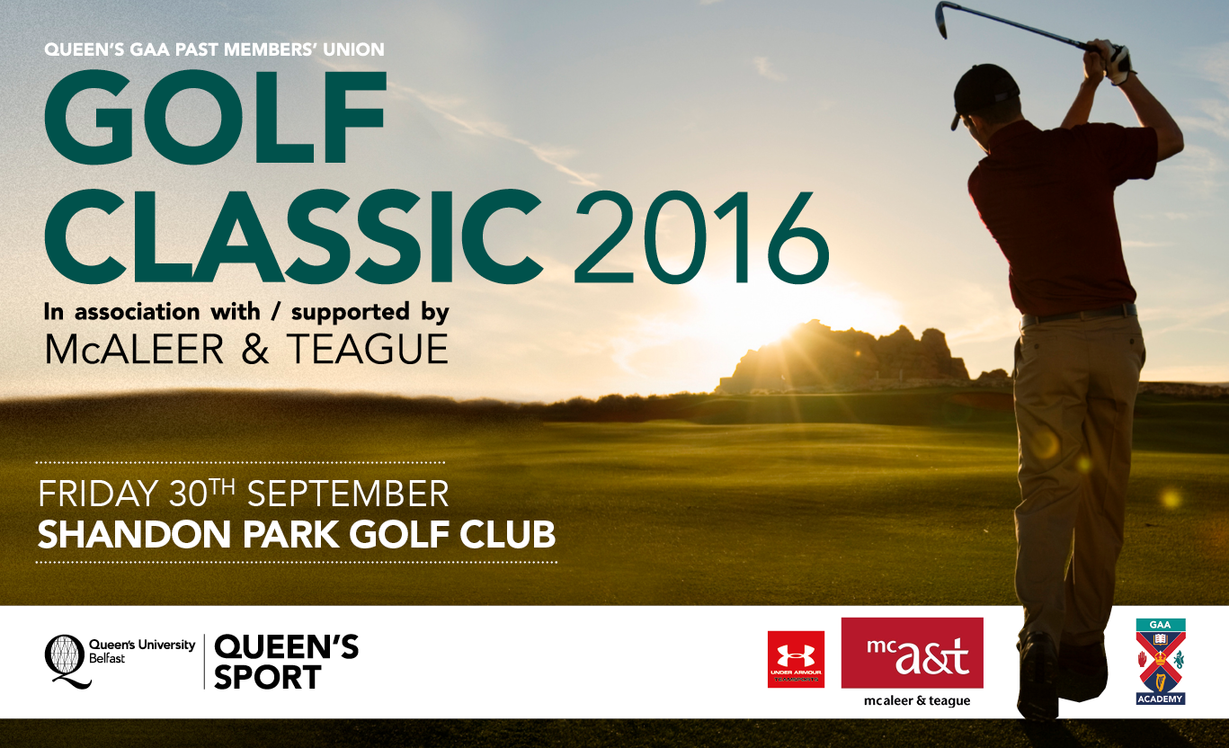 2016 Queen's GAA PMU Golf Classic
