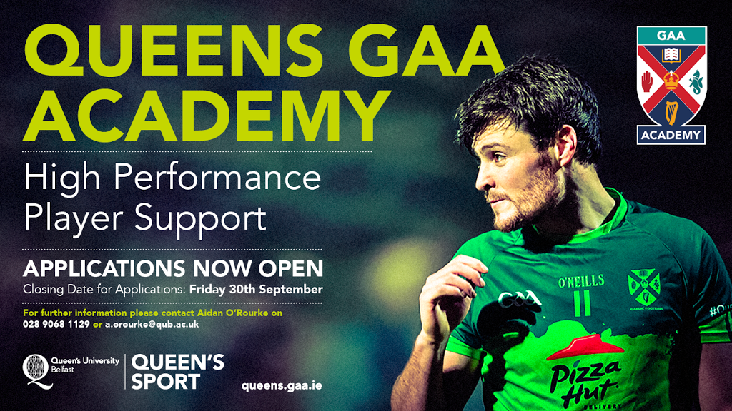 2016/17 GAA Academy Applications Now Open