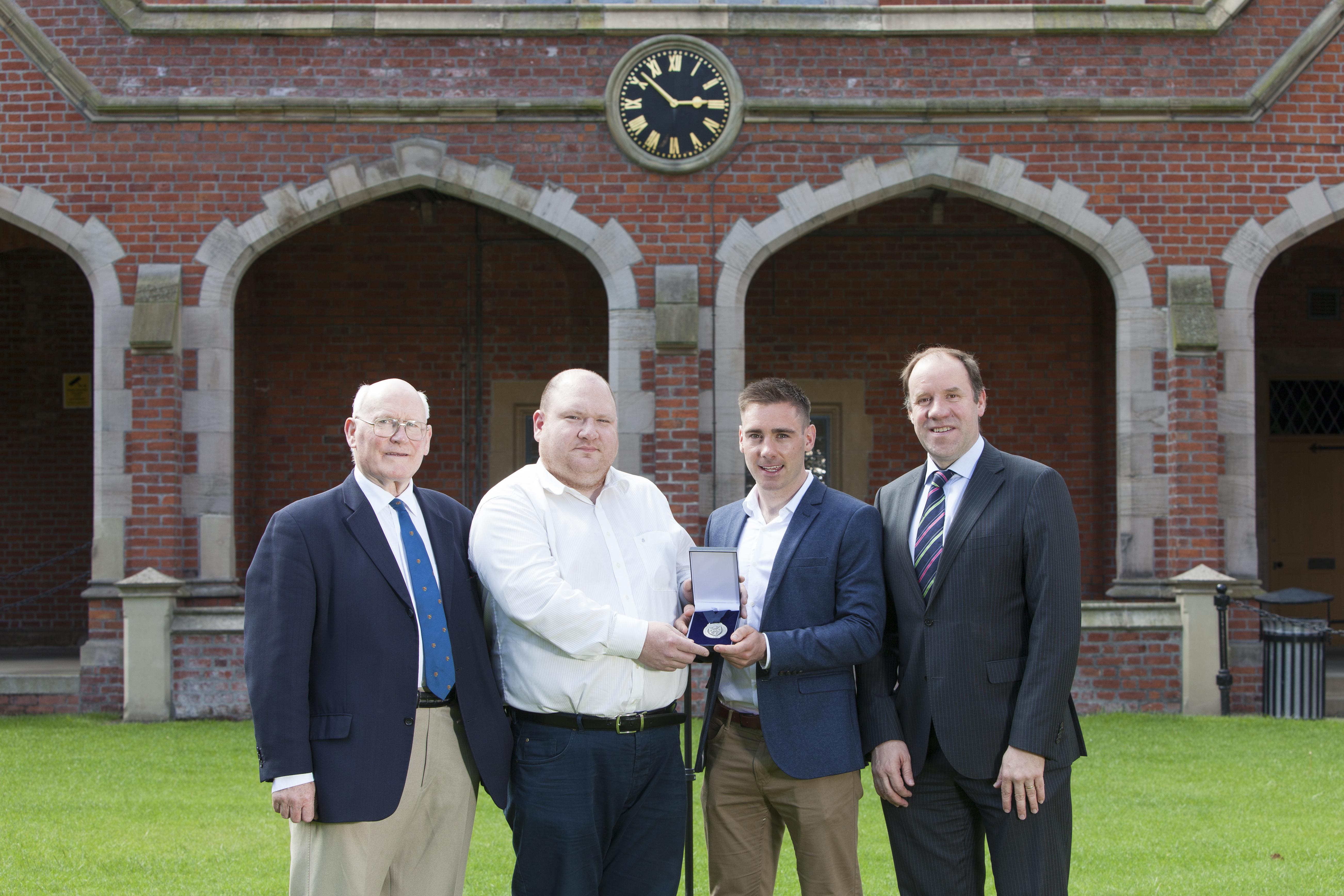Martin O'Reilly Awarded the 2017 Cormac McAnallen Medal