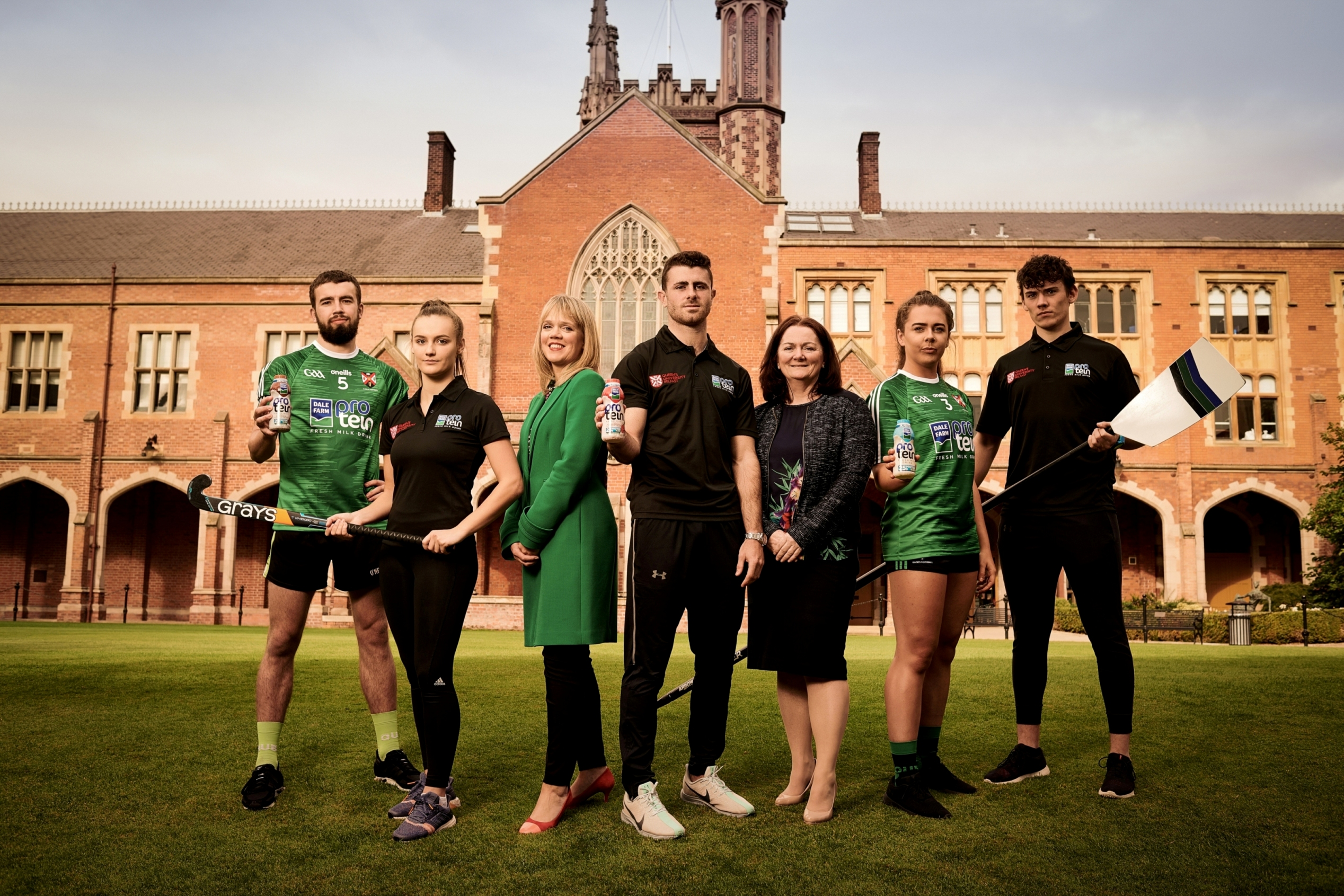 Queen's GAA Announce Partnership with Dale Farm